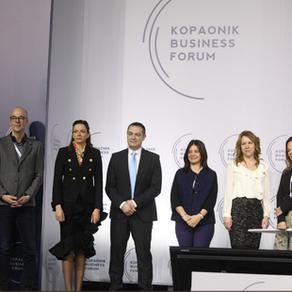 Članice Alijanse za rodnu ravnopravnost na ovogodišnjem Kopaonik biznis forumu