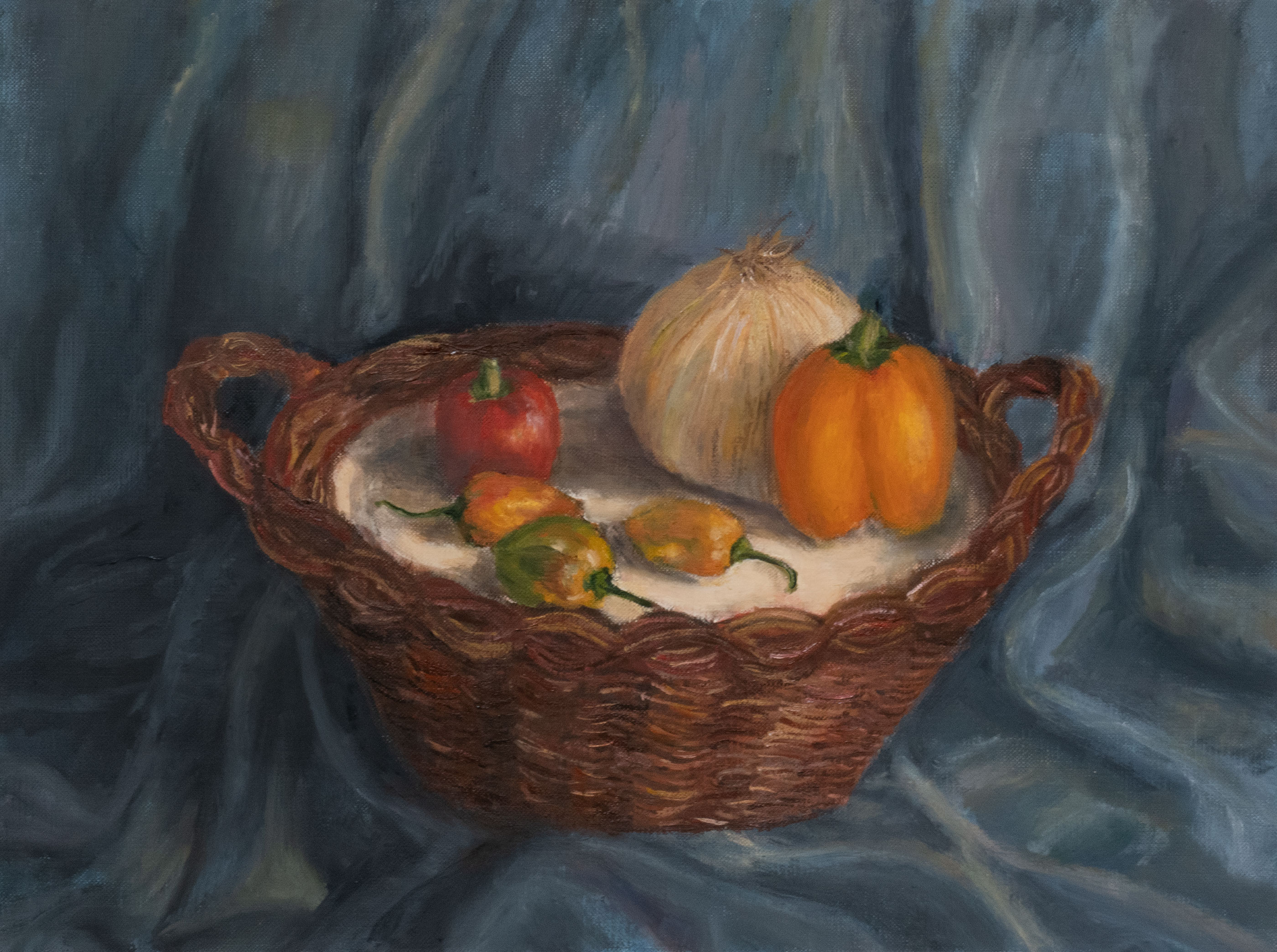 Oil Vegetable Basket Still