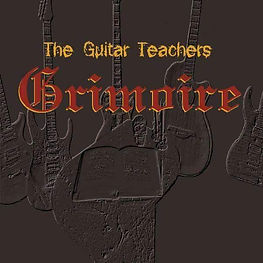 The Guitar Teachers Grimoire Book Cover Logo