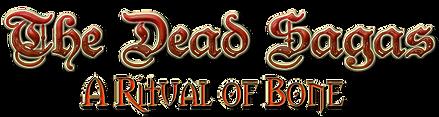The Dead Sagas A Ritual of Bone Logo