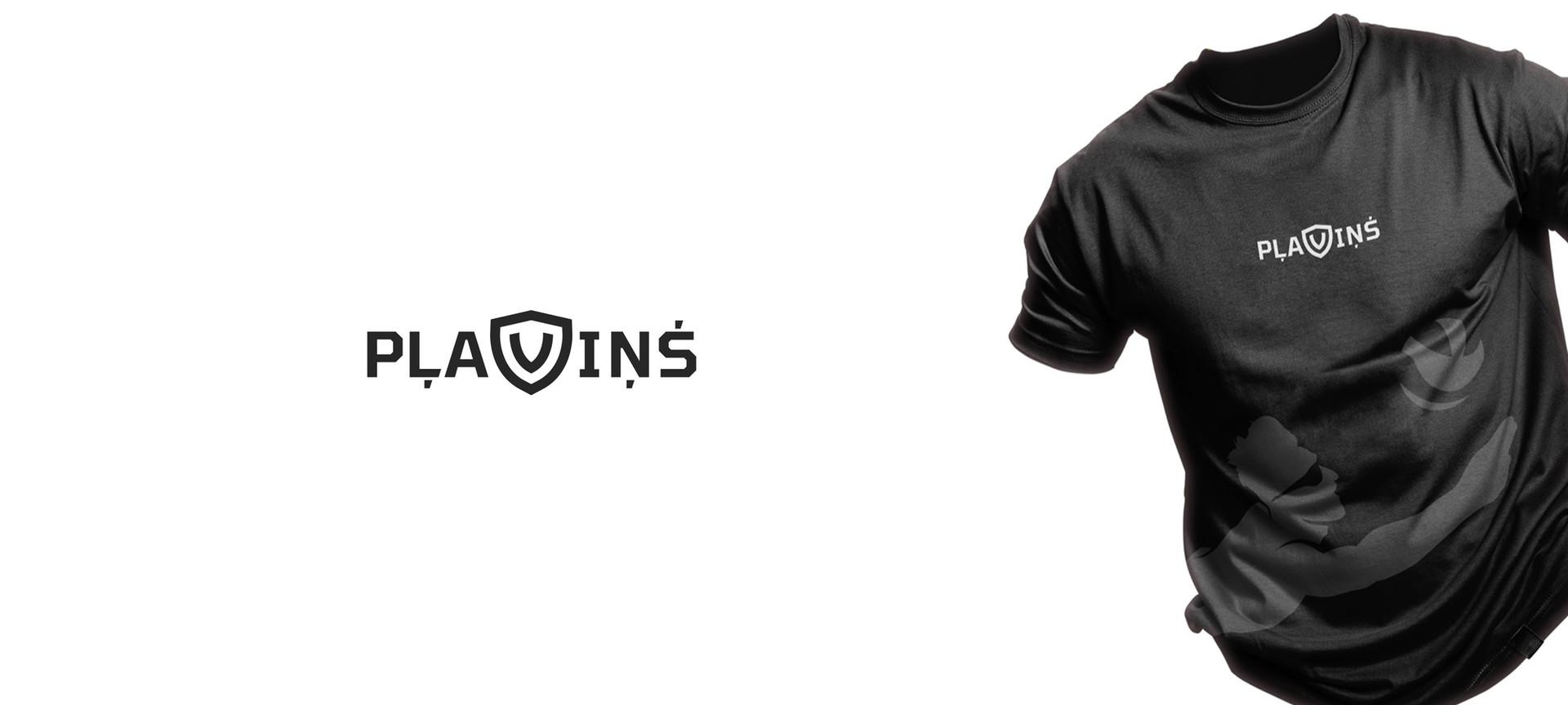 Logo dizains priekš Latvijas Olimpieša - volejbolista Mārtiņa Pļaviņa