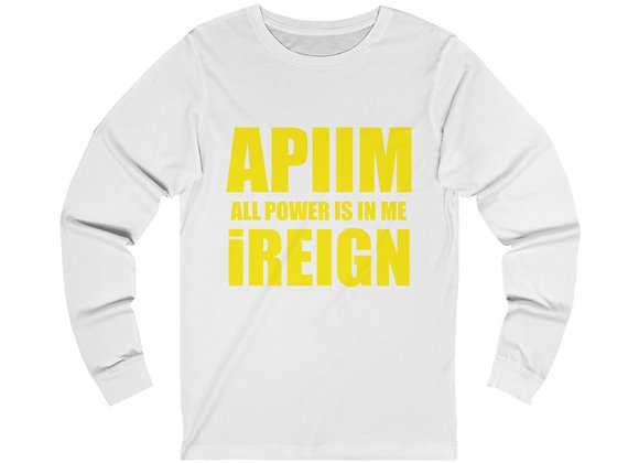 Yellow REIGN Long Sleeve T
