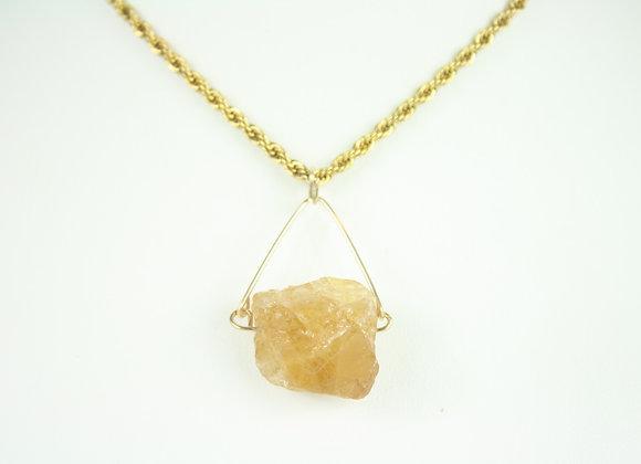 Mini Citrine Necklace