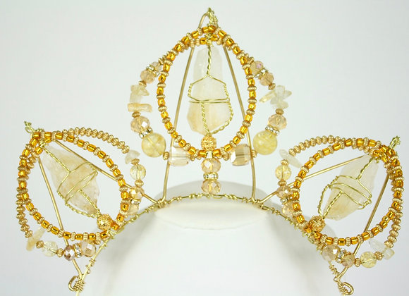 Sweet Citrine Crown