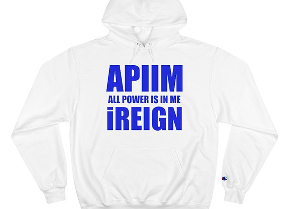Blue APIIM Hoodie