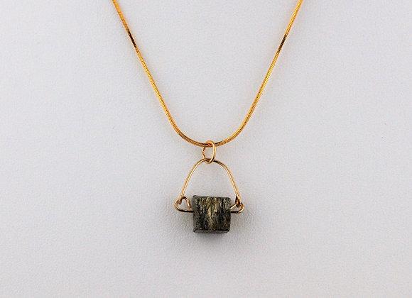 Pyrite Mini Necklace