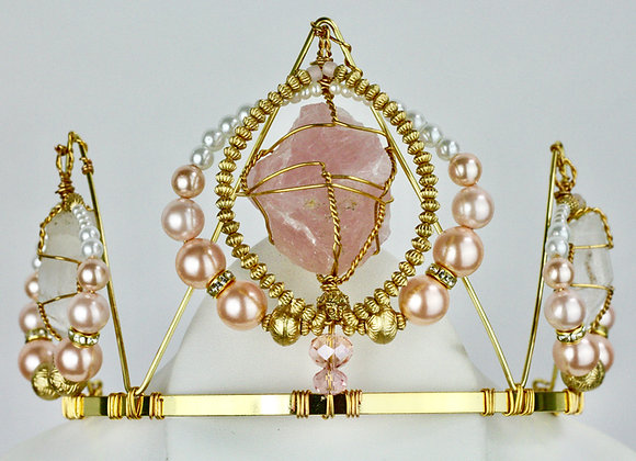 Pink Pearl Crown