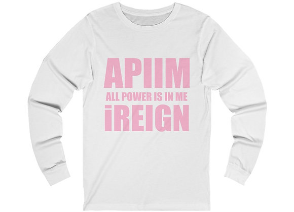 Baby Pink REIGN Long Sleeve T