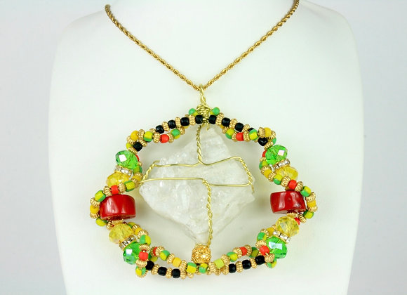 Kandake Amulet Necklace