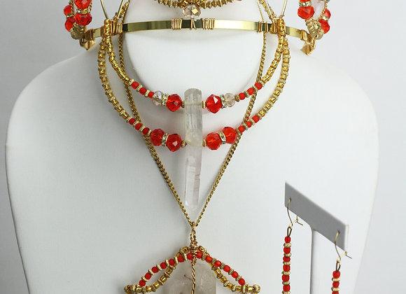 Louisa Crown N' Jewels Set