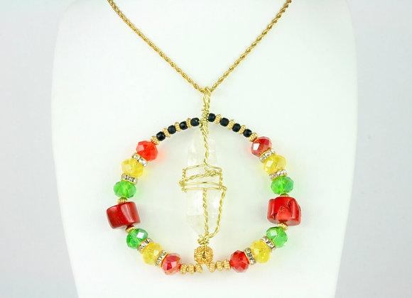 Owo Amulet Necklace