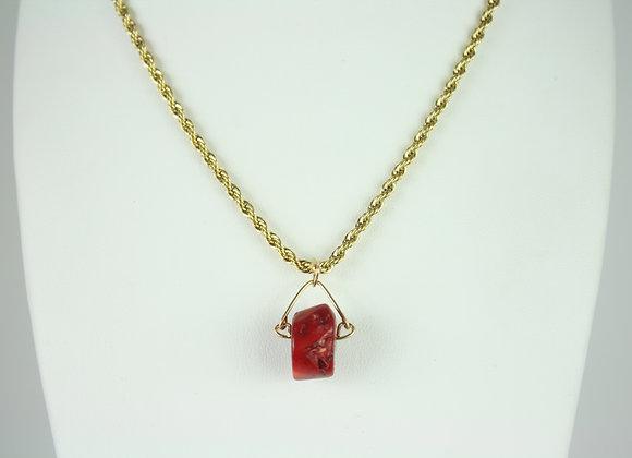 Coral Mini Necklace