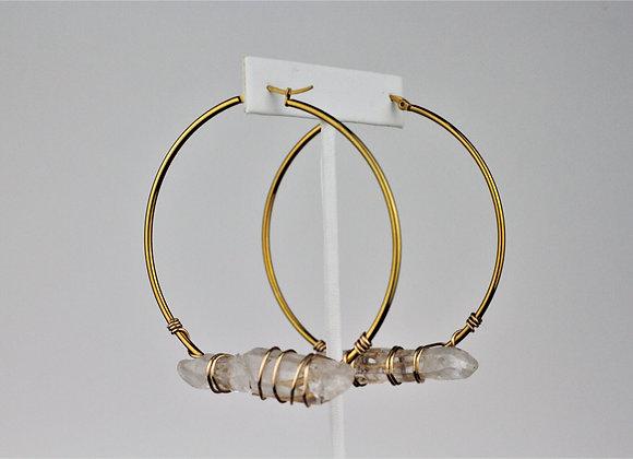 Beverly Hoop Earrings
