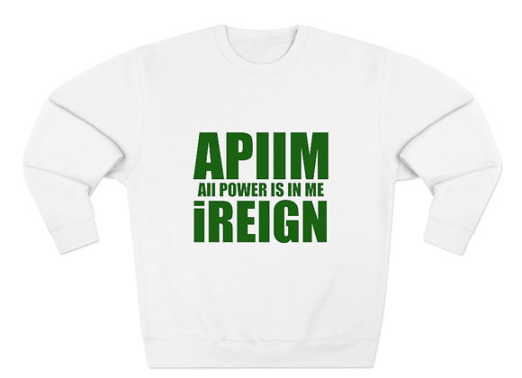 Army Green REIGN Crew Neck