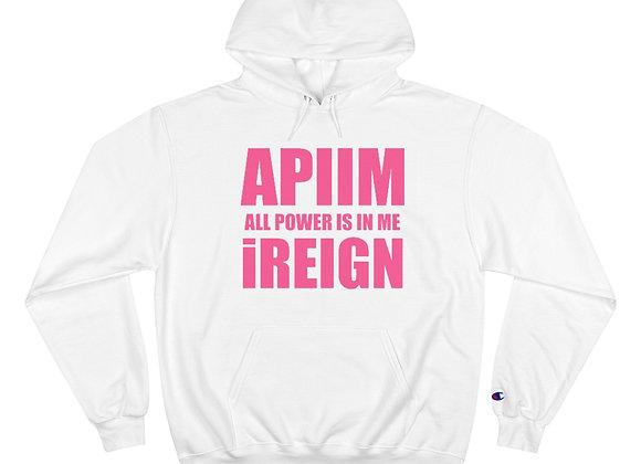Hot Pink APIIM Hoodie