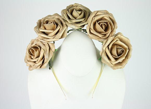 Golden Flower Crown