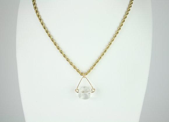 Mini Quartz Rock Necklace