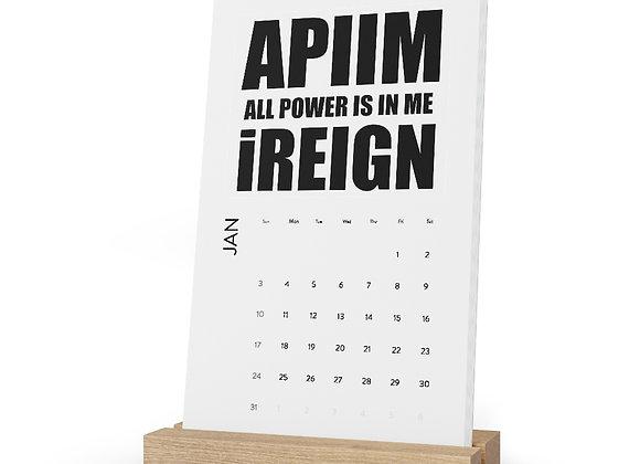 APIIM Desk Calendar