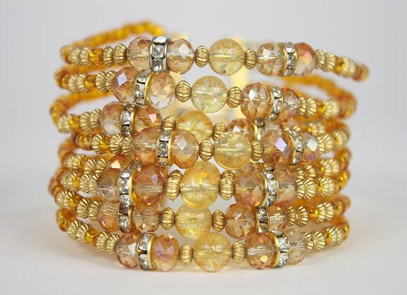 Citrine Stacked Bracelet