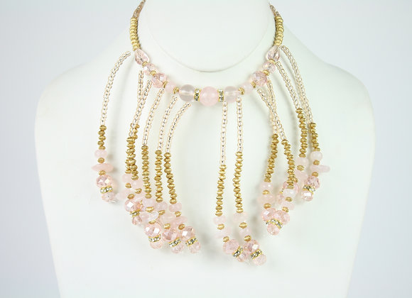 Romantic Headpiece and Necklace