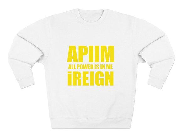 Yellow REIGN Crew Neck