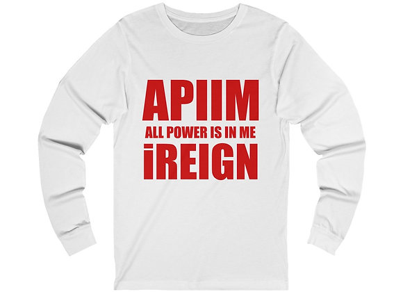 Red REIGN Long Sleeve T