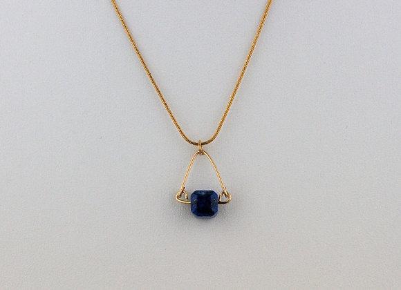 Lapis Mini Necklace
