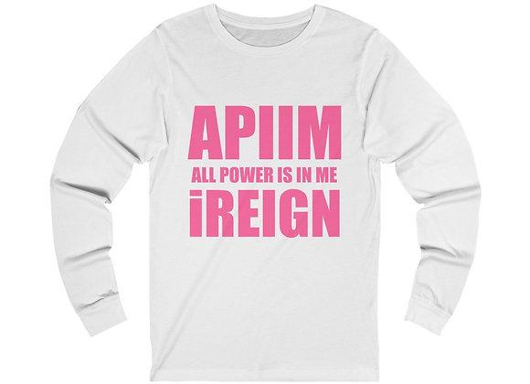 Hot Pink REIGN Long Sleeve T