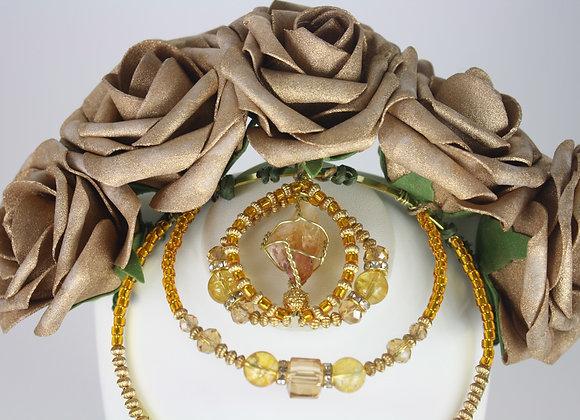 Citrine Flower Crown