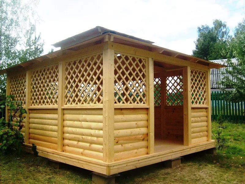 ไม้โครง ไม้ฝาสน ท่อนซุง เสาไม้สน ไม้พื้นสน บ้านไม้สน ซุ้มไม้สน