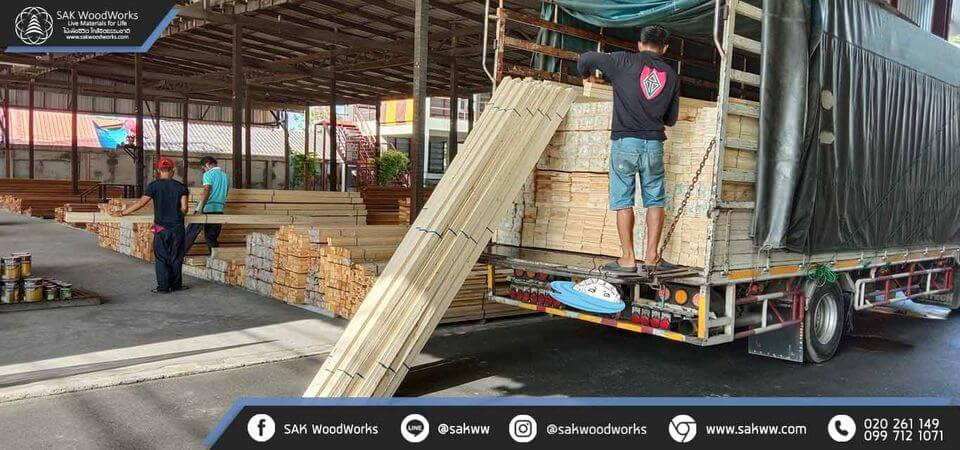 ไม้สน ชลบุรี พัทยา โรงโป๊ะค้าไม้