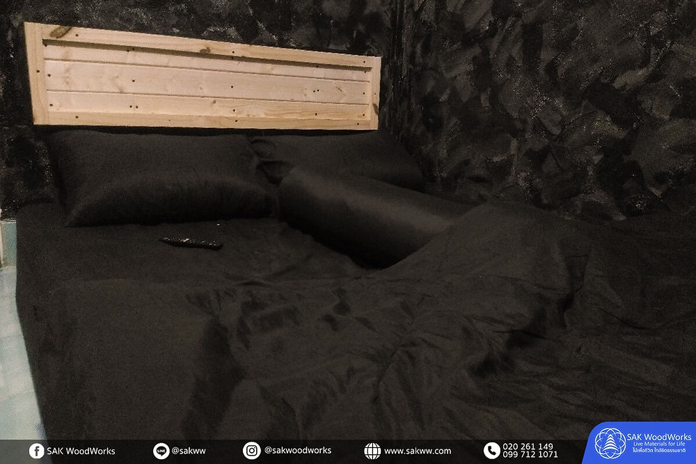 หัวเตียง,ตกแต่งบ้าน,ไม้ฝา,เตียงไม้สน,เตียง,ห้องนอน,ไม้สน,เฟอร์นิเจอร์ไม้สน