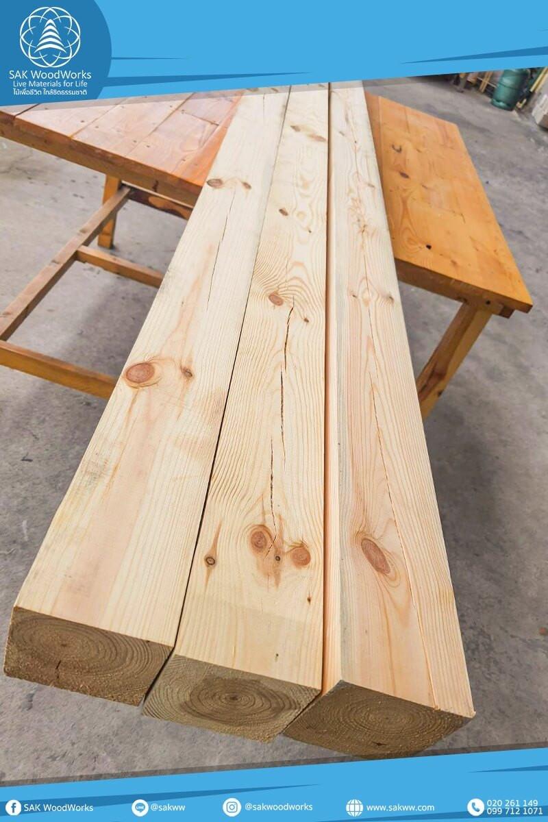 เสาไม้,เสาไม้สน,เสา,ไม้แปรรูป,ไม้สน,DIY