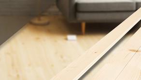 ไม้พื้นสน รางลิ้น ของ SAK WoodWorks