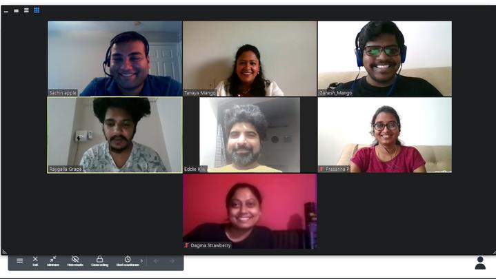 Webinar on effective virtual meetings