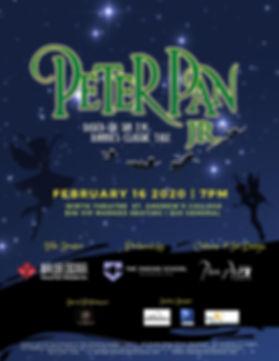 Perter Pan Jr. Musical Poster