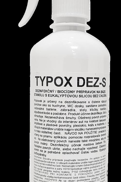 TYPOX DEZ - S, rozprašovač 0,5 litra