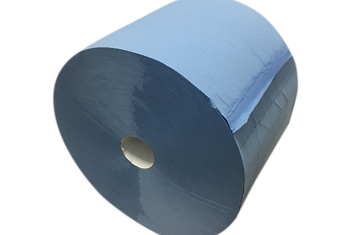 Papierové utierky- modré