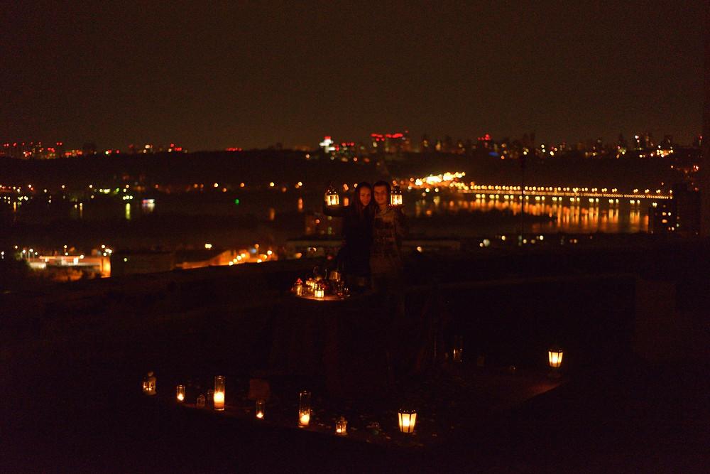 Свидание на крыше Киев Альтечо