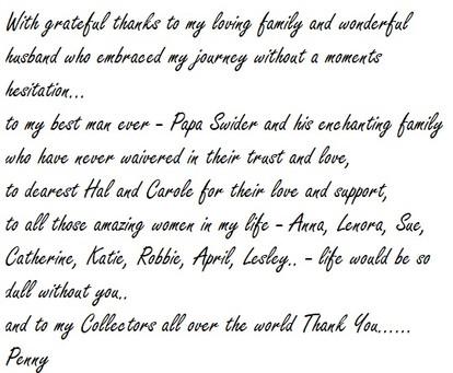 Admiration and Gratitude