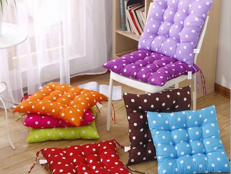 Яркие декоративные подушки помогут оживить Ваш интерьер
