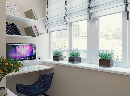Балкон может стать любимым местом в квартире.