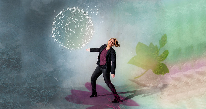 Kvantesprang kloden og meg bilde - wider