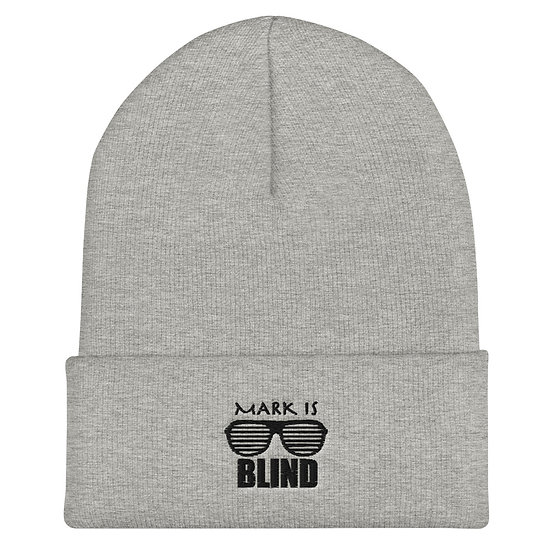 Mark Is Blind - Cuffed Beanie