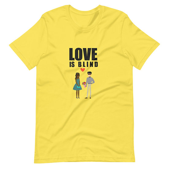 Love Is Blind Couple - Short-Sleeve Unisex T-Shirt