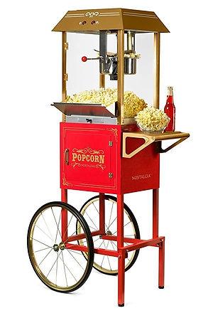 Concessions, Vintage Popcorn Machine, The Party Rental Place, Southington, CT