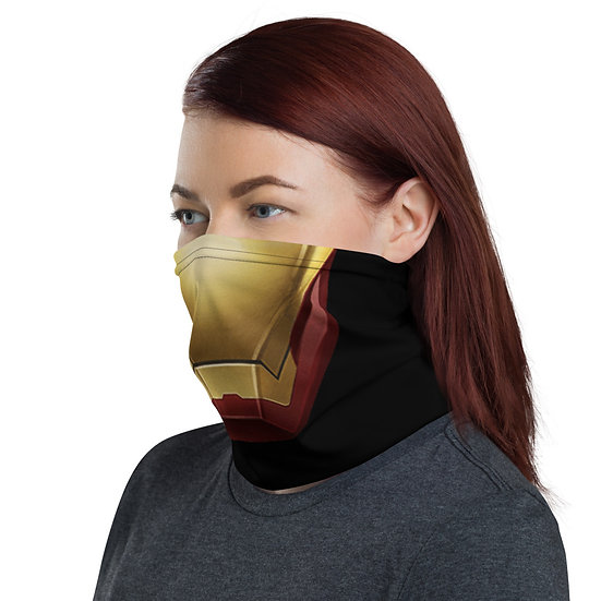 Iron Man Mask - Neck Gaiter