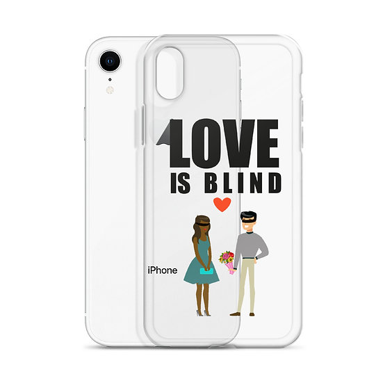 Love Is Blind - iPhone Case