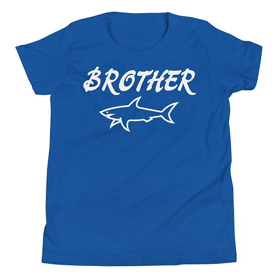Brother Shark - Youth Short Sleeve T-Shirt