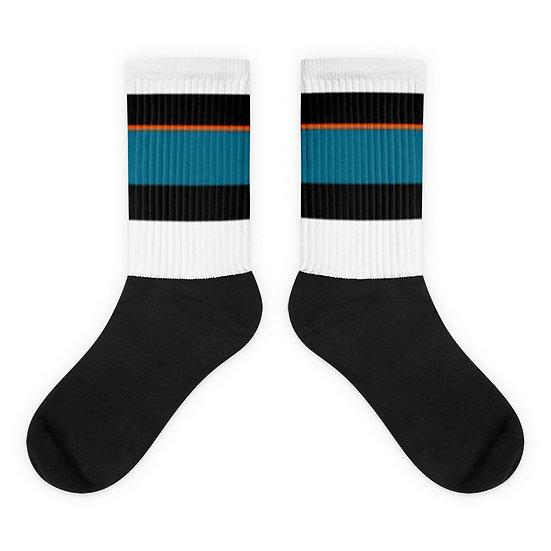 San Jose Sharks Away - Socks